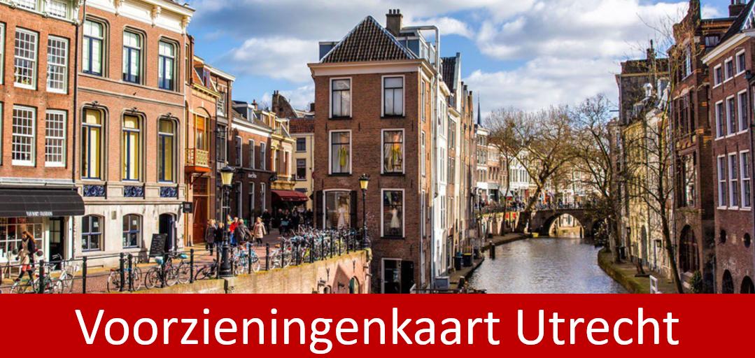 Voorzieningenkaart Utrecht
